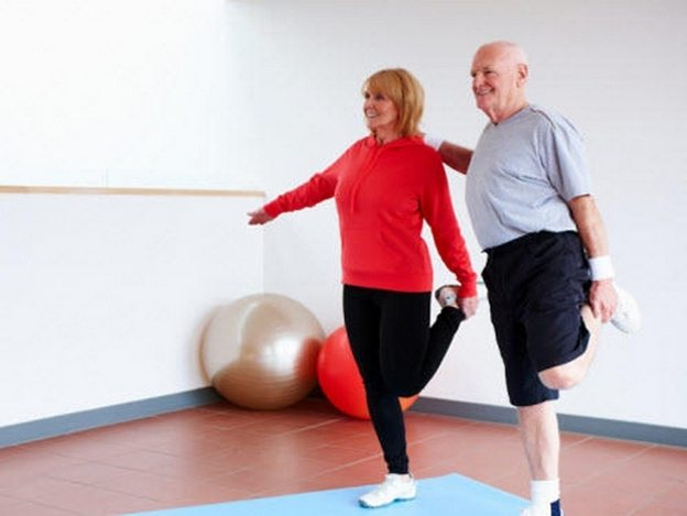 Home exercise program for older adults