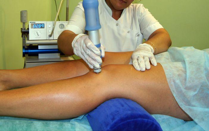 Лечение колена физиотерапией