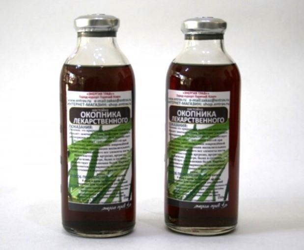 Изображение - Окопник лекарственный для сустава nastojka-okopnika