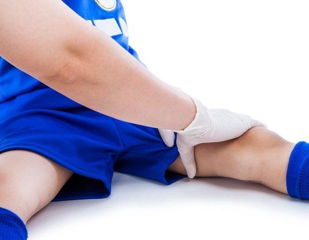 Боль в колене после падения
