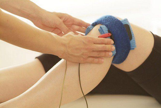 Электростимуляция колена