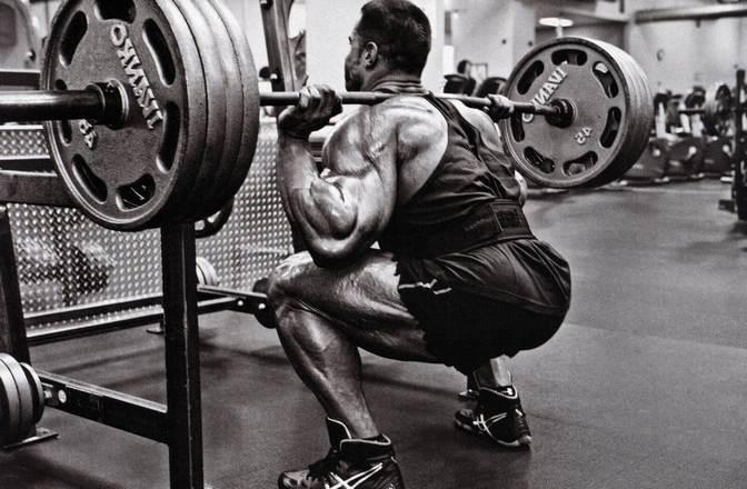 Нагрузка на колени