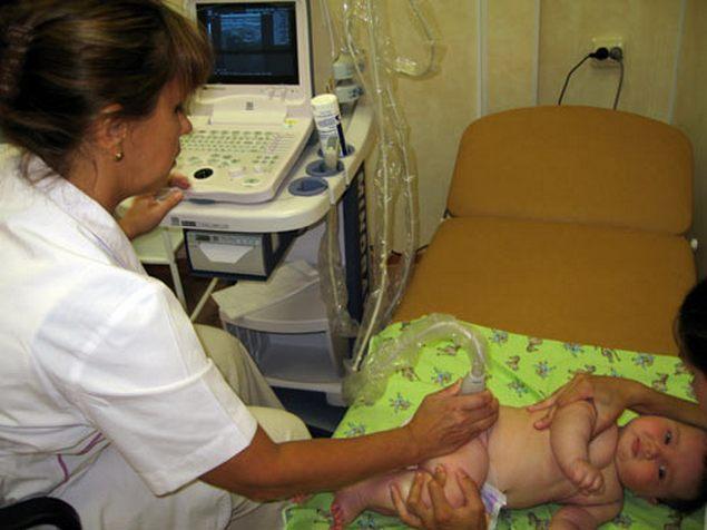 УЗИ ТБС у новорожденного