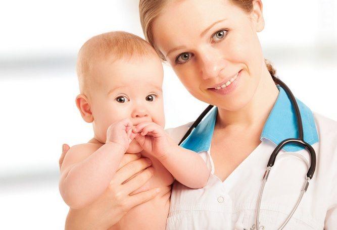 Ребенок и врач