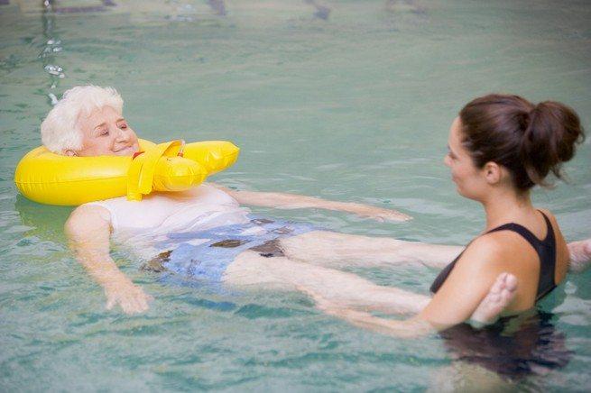 Плавание при ревматоидном полиартрите