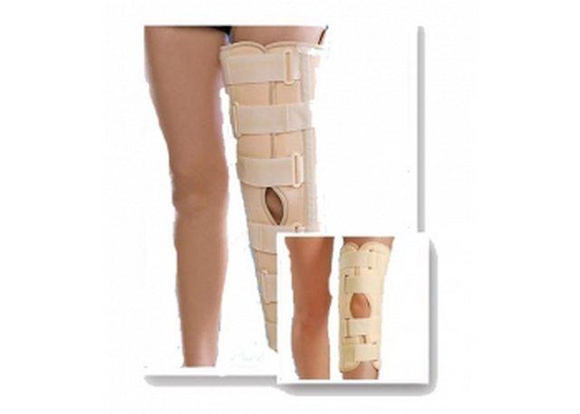 Бандаж на коленный сустав с ребрами жесткости