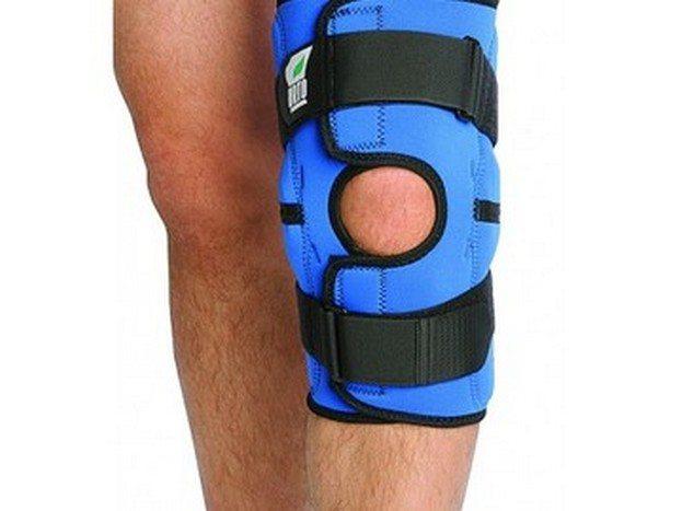 Разъемный коленный бандаж