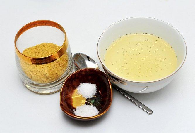 Мазь из соли и горчицы