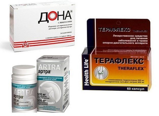 Хондропротекторы для лечения остеоартроза