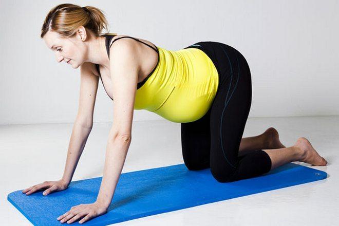 Упражнение при беременности