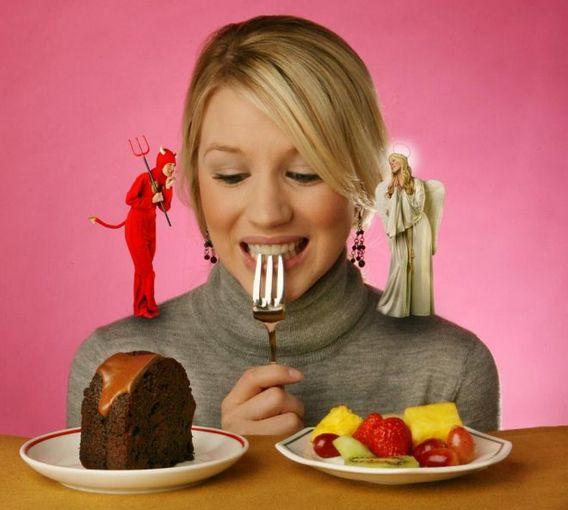 Соблазн съесть запрещенный продукт