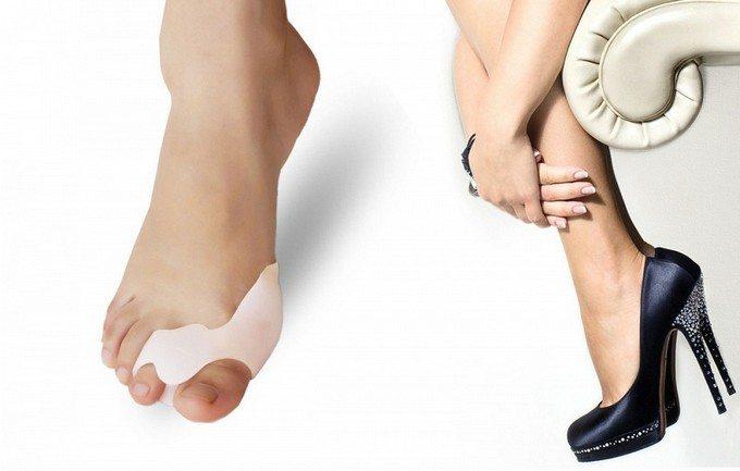 Фиксация большого пальца ноги