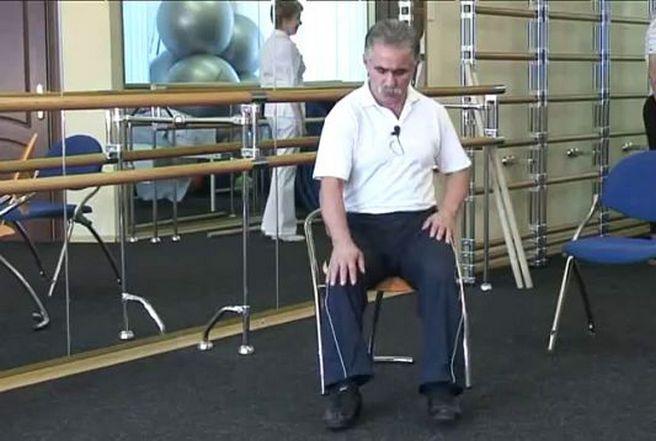 Упражнение Попова при плечелопаточном периартрите