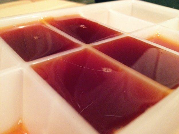 Чайные кубики льда