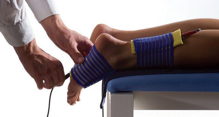 Магнитотерапия стопы