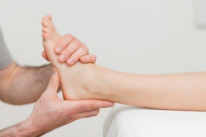 Обследование голеностопного сустава