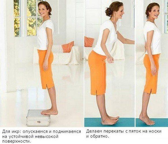 Упражнения при артрите голеностопного сустава