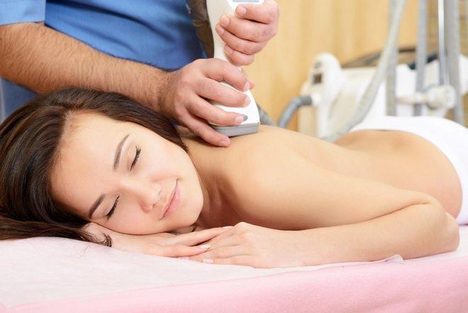 Аппаратный массаж шеи при остеохондрозе