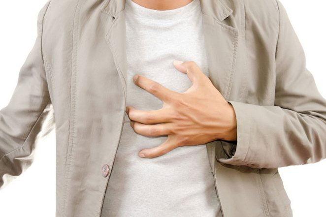 Дискомфорт в грудной клетке