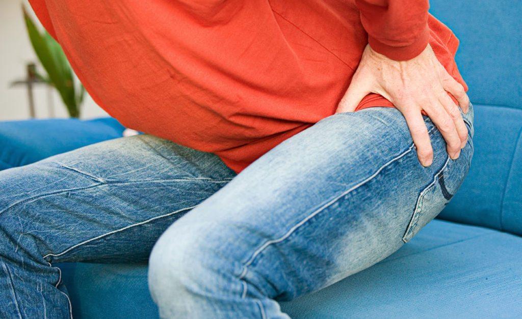 Резкие боли в тазобедренном суставе