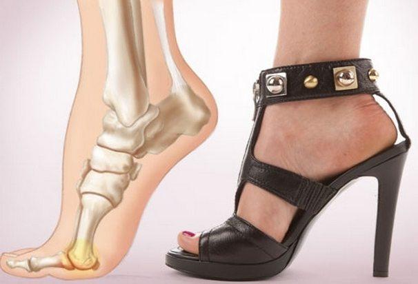 Нагрузка на пальцы ног