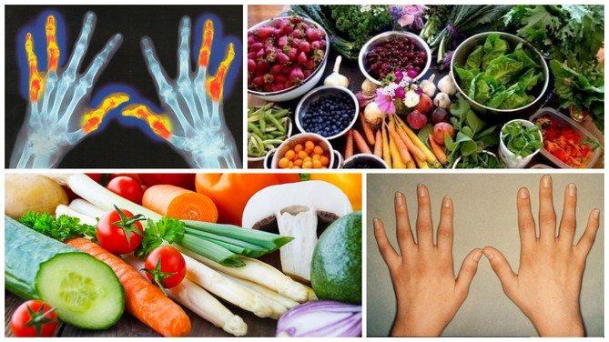 Диета при ревматоидном артрите рекомендации и рацион