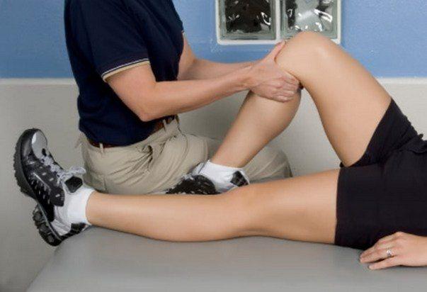 ЛФК при боли в ногах