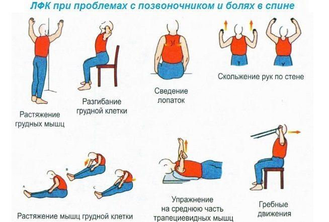 Гимнастика для спины и позвоночника