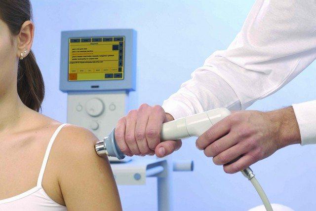 Магнитотерапия плеча