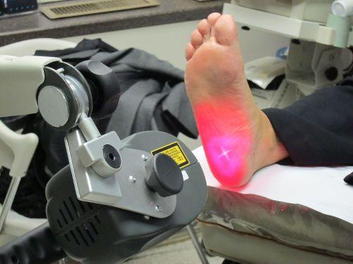 Нога болит лазер лечение