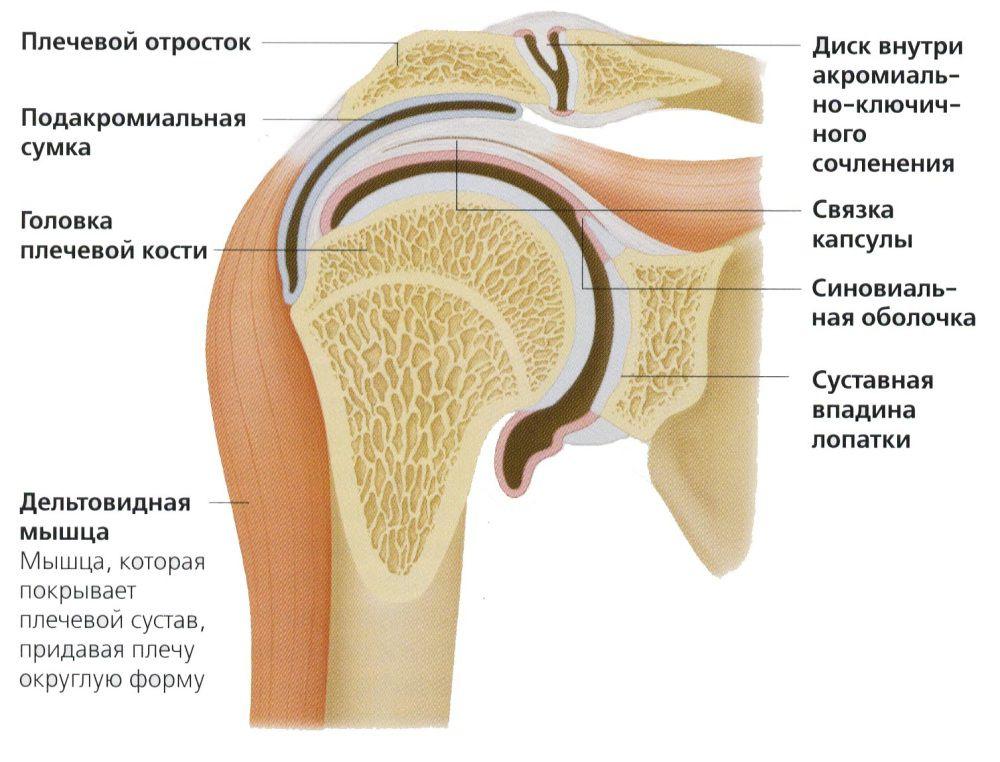 Деформация плечевого сустава лечение