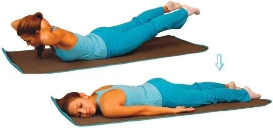 Упражнения для спины в домашних условиях при грыже и остеохондрозе