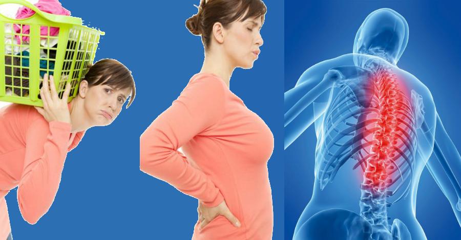 По каким причинам может болеть спина