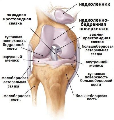 Как вылечить колени лекарство