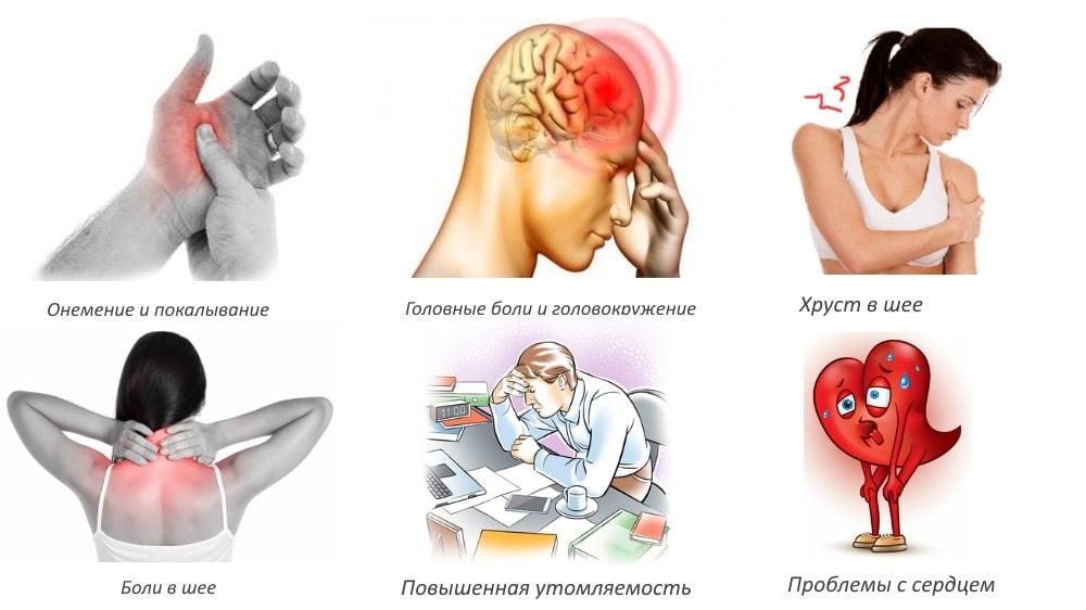 Как избавиться от головокружения при шейном остеохондрозе