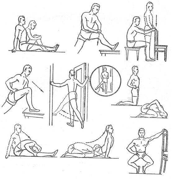 Гимнастика для коленного сустава гитт