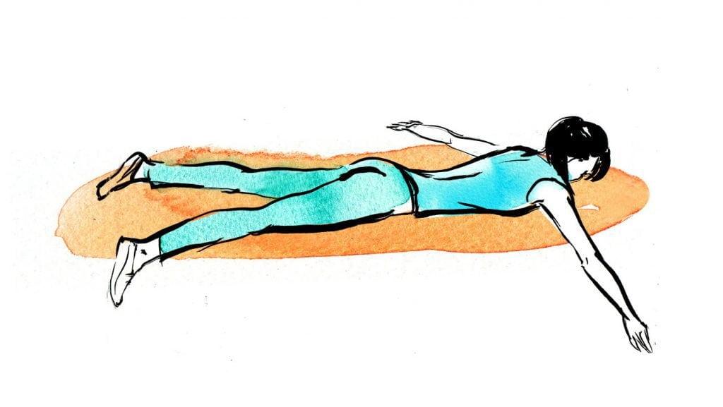 Упражнения для спины при остеохондрозе грудного отдела позвоночника