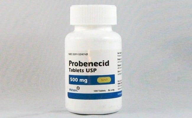 Изображение - Подагра коленного сустава Probenecid